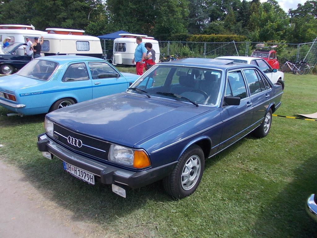 Audi 100 5e Cd 1979 Bockhorn 2014 Hog Troglodyte Flickr
