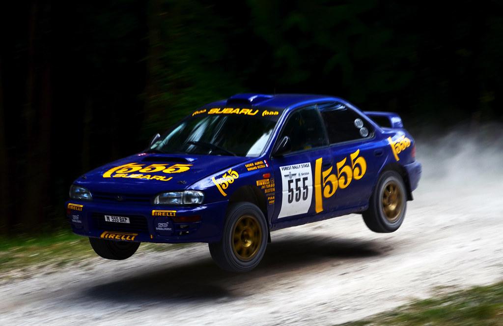 Subaru Impreza 555 A 1996 Subaru Impreza 555 World Rally