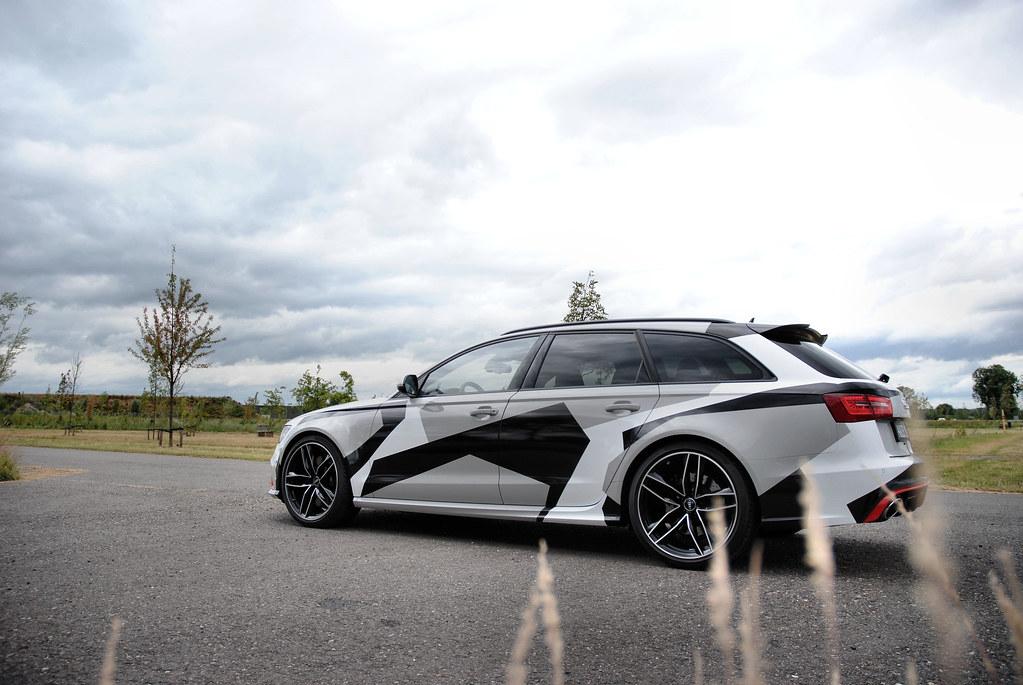 Audi Rs6 Avant C7 Jon Olsson Camouflage Ad Van Der Aa Flickr