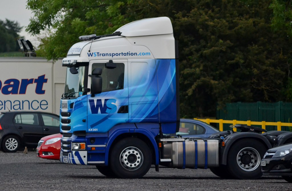 WS Transportation 6X201 PK14 JZG At Thirsk Depot 11/6/14
