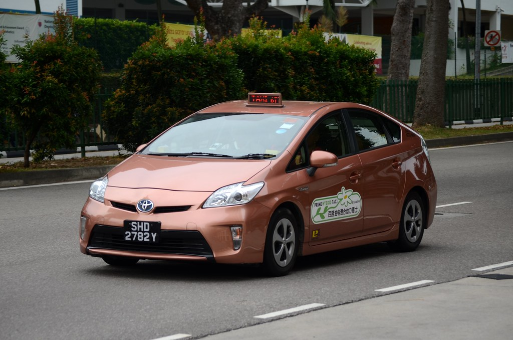 Prime Taxi Toyota Prius Taxi Nighteye Flickr