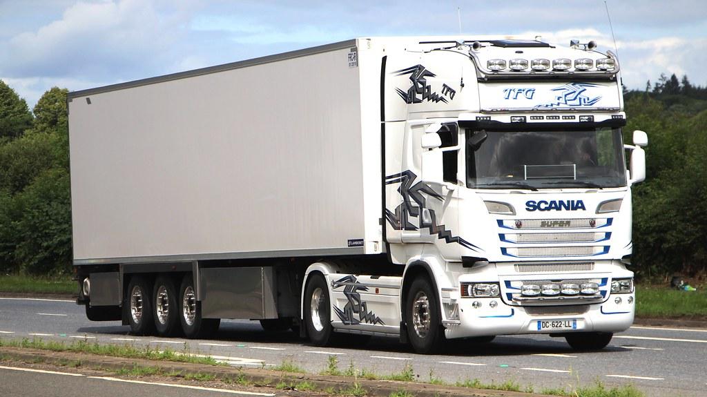 Scania Super R Series Tfg Transport Roubaix France Flickr