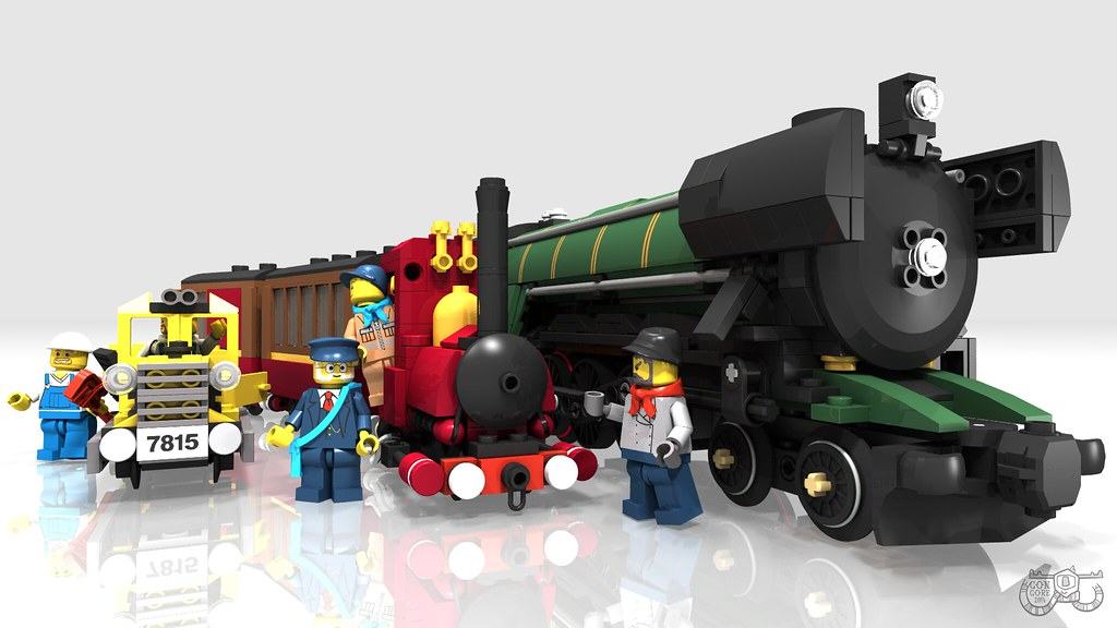 Lego Narrow Gauge Steam Train Narrow Gauge Steam Engine