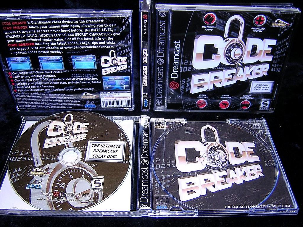 code breaker dreamcast