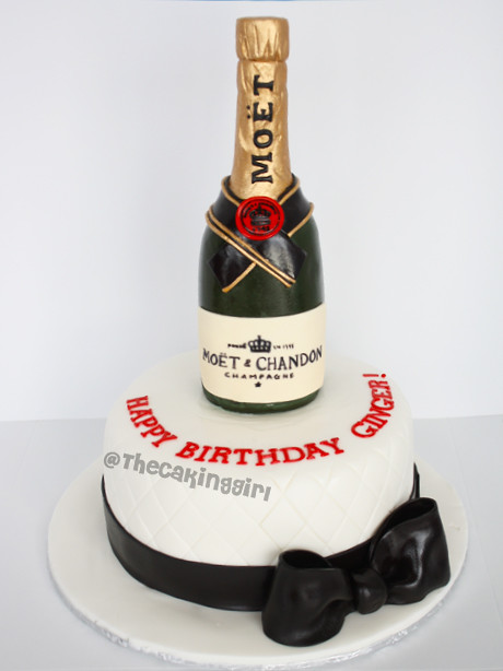 Moet Wine Bottle Cake Visit My Blog At Www
