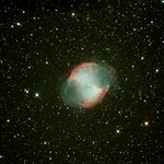 NGC6853 Sharpened nd re-curved 4200 Seconds