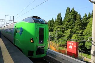 789系 スーパー白鳥28号 津軽今別駅入線
