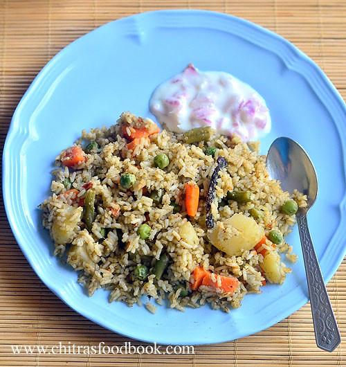 Karnataka style pulao recipe