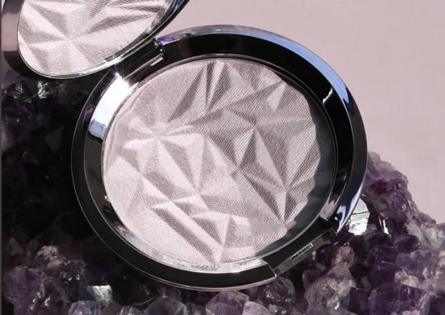 Becca Amethyst Highlighter, photo via Glamour.com (from Becca's IG)