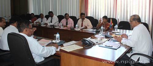 Discussion with Provincial Ministries' Secretaries – 01 October 2014