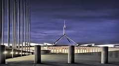 Parliament House - 20141005 @ 06:02