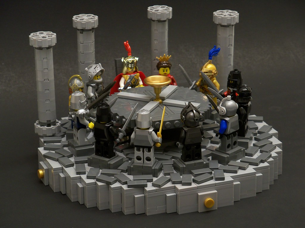 Knights of the round table lisqr flickr - Knights of the round table lego ...
