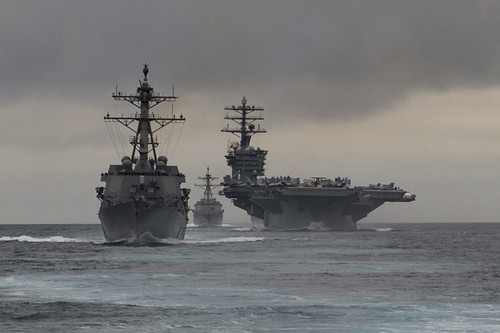 SAN DIEGO – The guided-missile cruiser USS Princeton (CG 59) and the guided-missile destroyers USS Howard (DDG 83) and USS Pinckney (DDG 91) departed their homeport of Naval Base San Diego, June 5, for deployment.