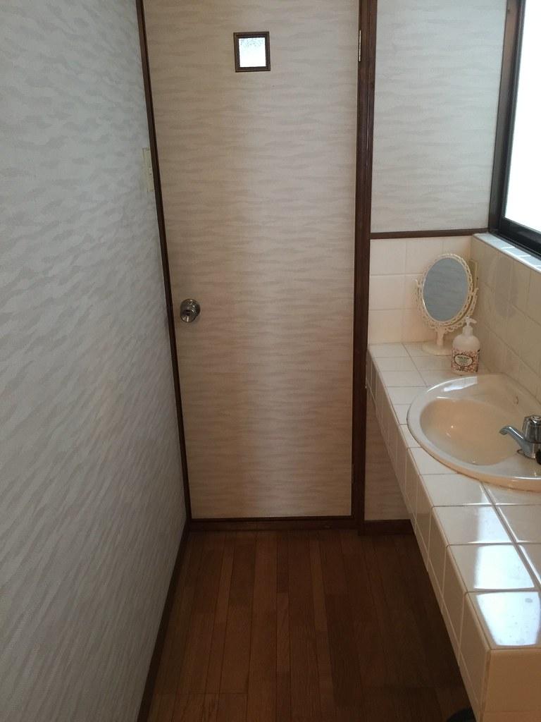 疊工房(Tatami workshop) 二樓的洗手台