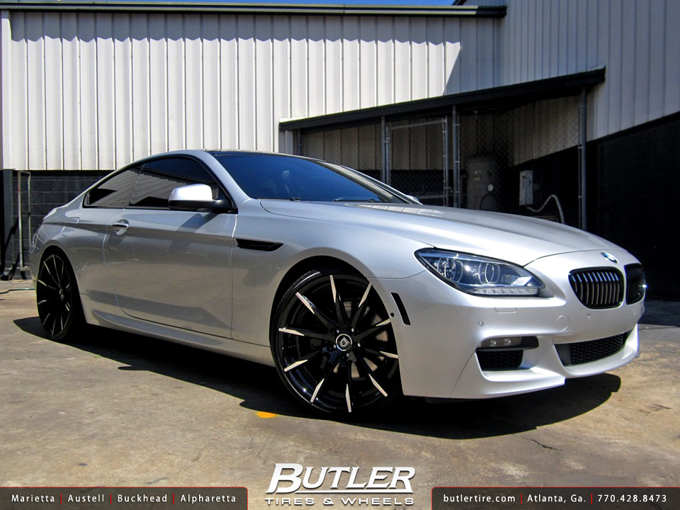 Bmw 650i With 22in Lexani Css15 Wheels Additional