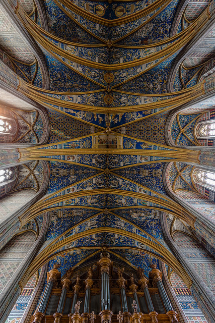 Albi plafond de la cath drale sainte c cile flickr photo sharing - Plafond cathedrale decoration ...