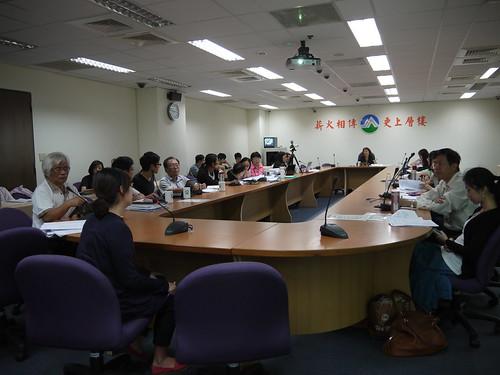 「環境影響評估法施行細則」修正草案8日下午進入第5次公聽會。
