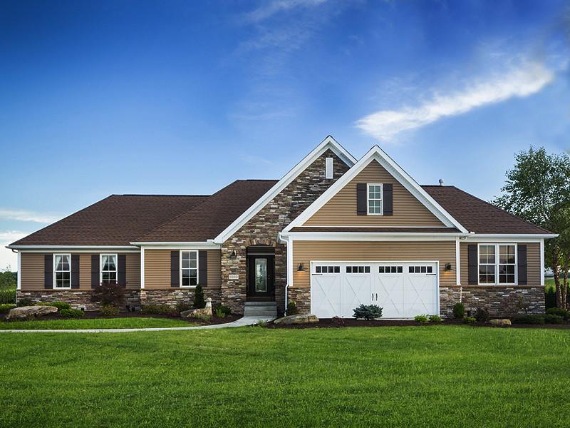 Granville b exterior schumacher homes flickr for Granville home
