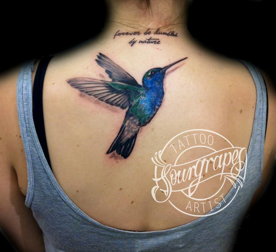 Hummingbird Tattoo Designs Small
