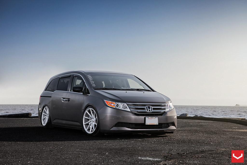 Honda Odyssey 20 Quot Vossen Cvt Wheels Vankulture Flickr