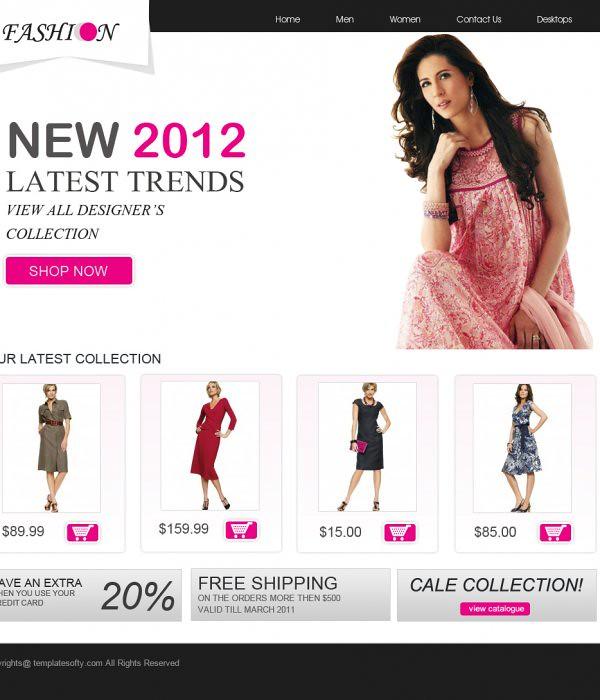 Fashion Website Templates. fashion. download fashion website ...