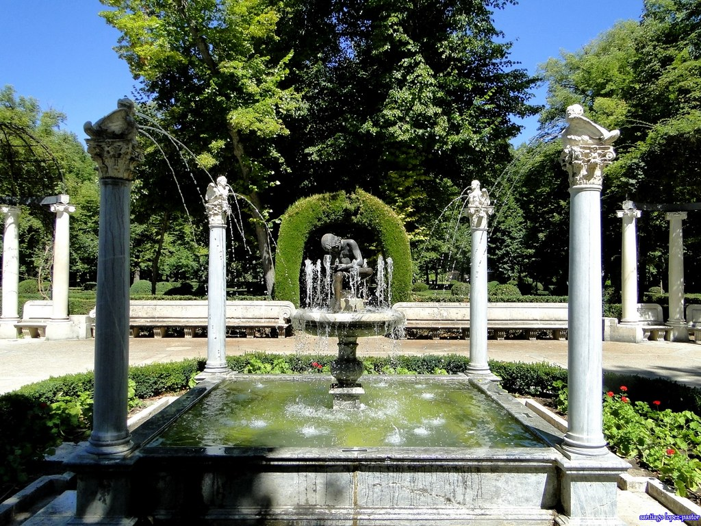 Fuente del espinario jard n de la isla aranjuez flickr for Jardines de aranjuez horario