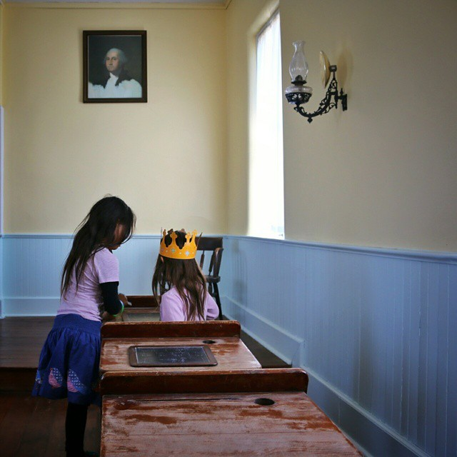 Homeschool in an old schoolhouse