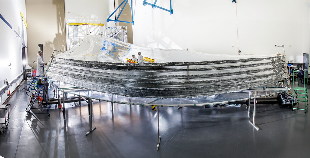 The James Webb Space Telescope's Sunshield