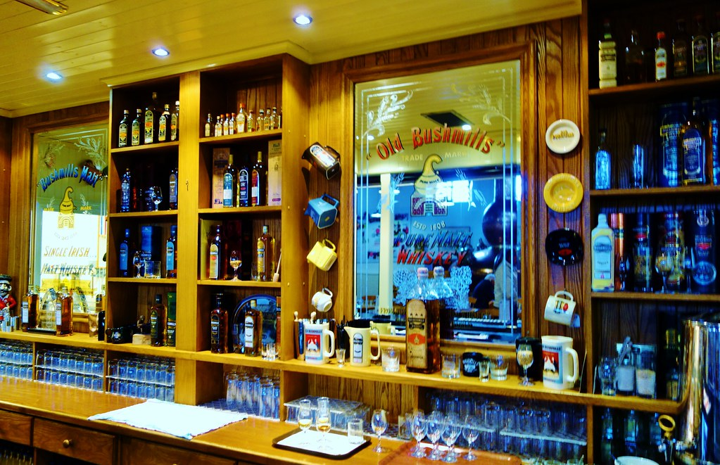 Bar at Bushmills Distillery, Ireland