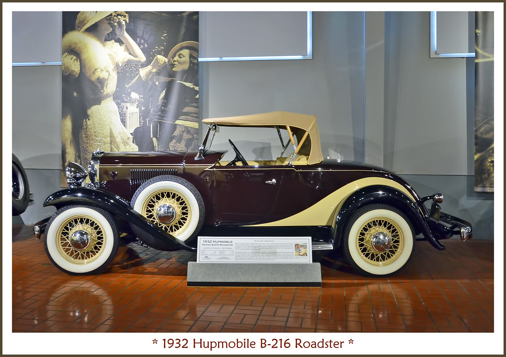 1932 Hupmobile B 216 Roadster Photographed February 17