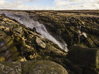 Kinder Downfall blow-back