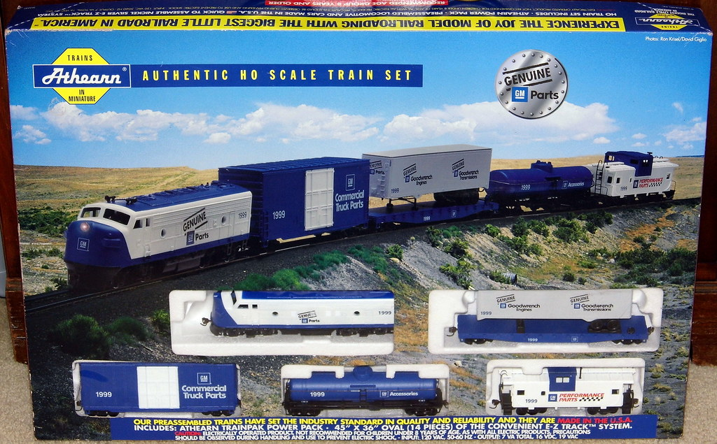 Parts For Cars >> Athearn HO Scale Model Train Set, Marked Genuine GM Parts,… | Flickr
