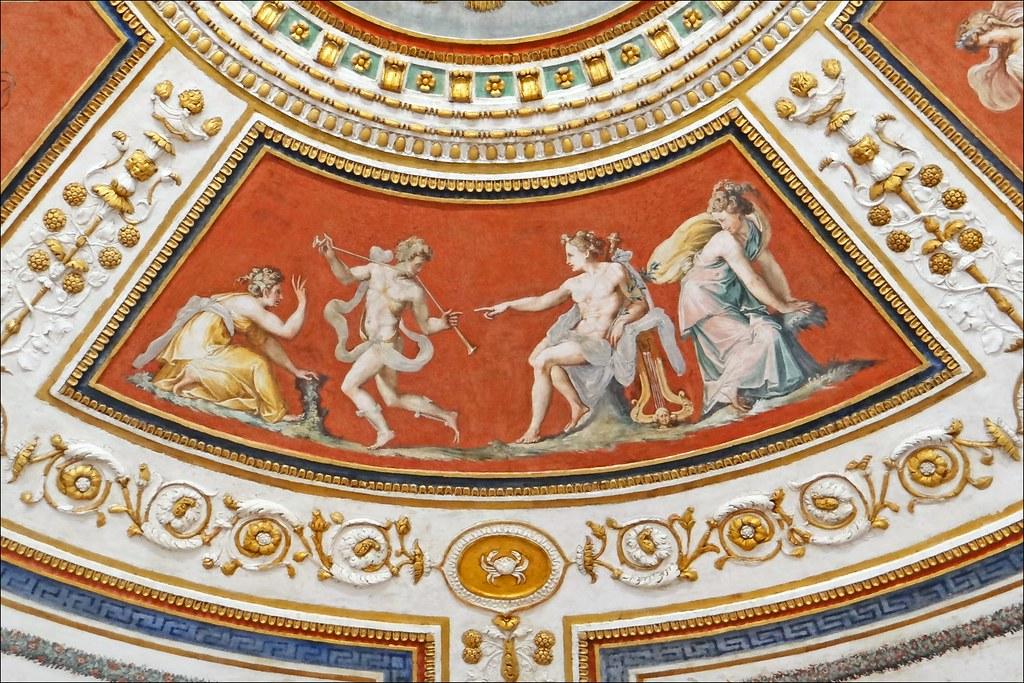 La chambre d 39 apollon palazzo grimani venise le for La chambre de giovanni
