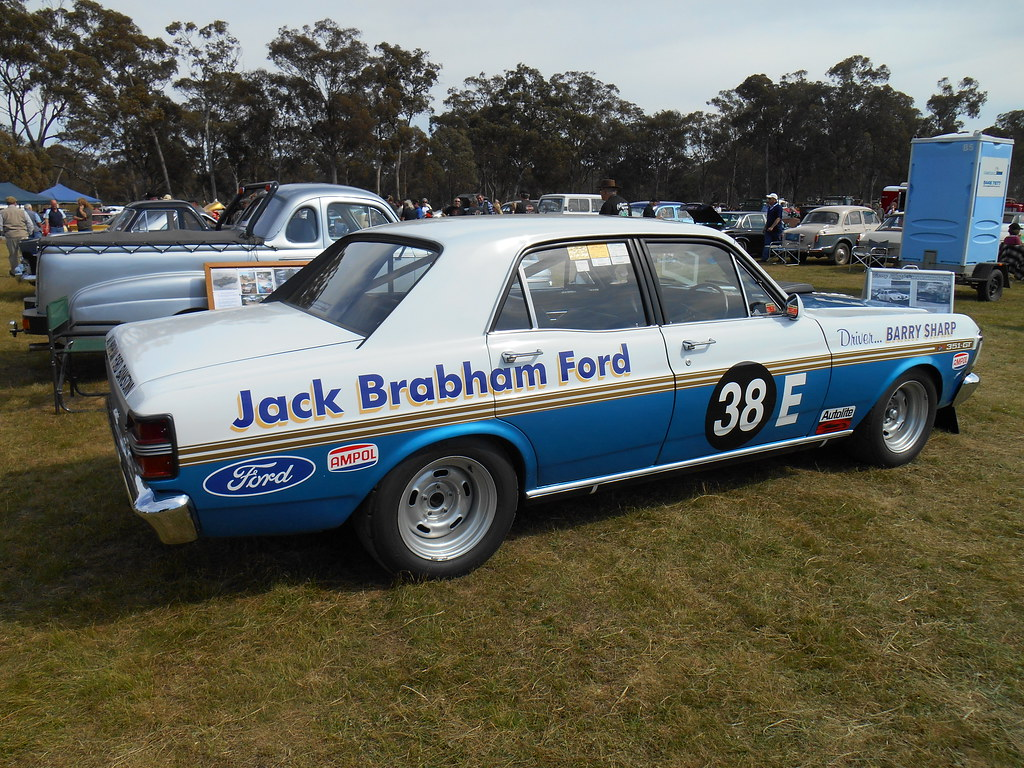 1971 ford xy falcon gt race car barry sharp a 1971. Black Bedroom Furniture Sets. Home Design Ideas