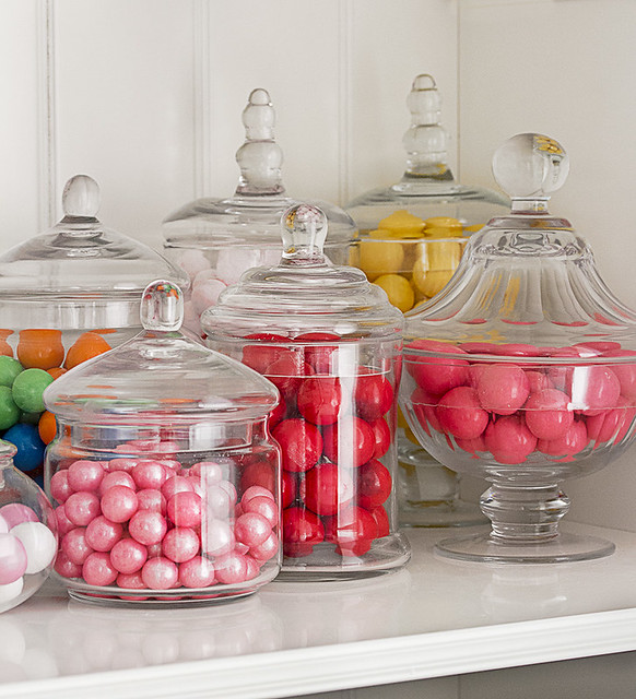 Bolas de chiles de colores