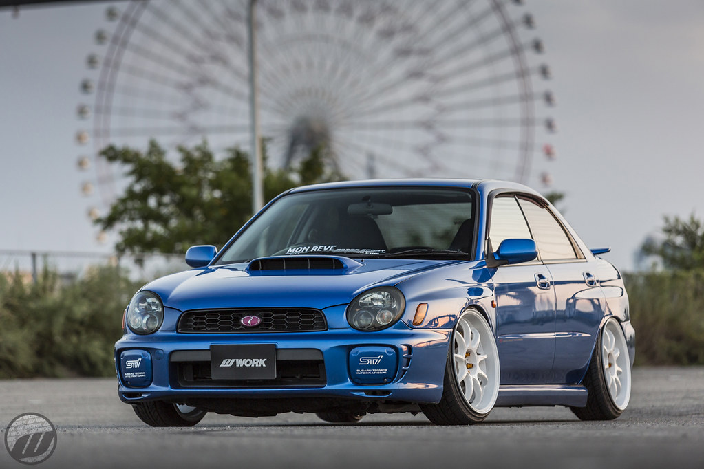 Mon Reve Subaru Impreza Sti On Work Emotion D9r F R 19