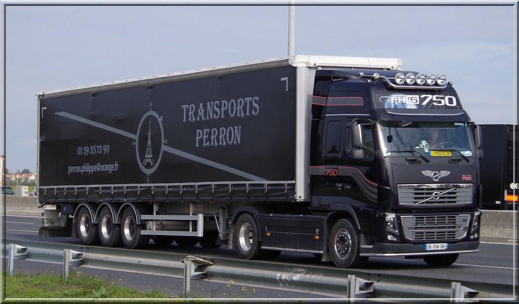 Volvo Fh16 750 Globetrotter Transports Perron Philippe M