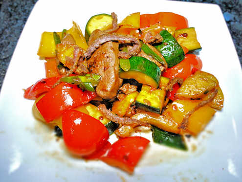 sweet and sour duck