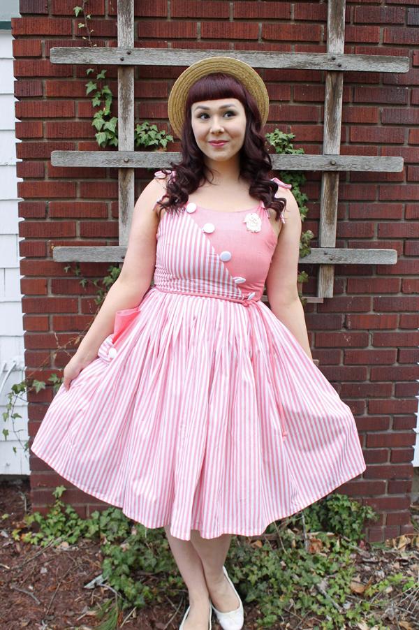 hamilton dress pink