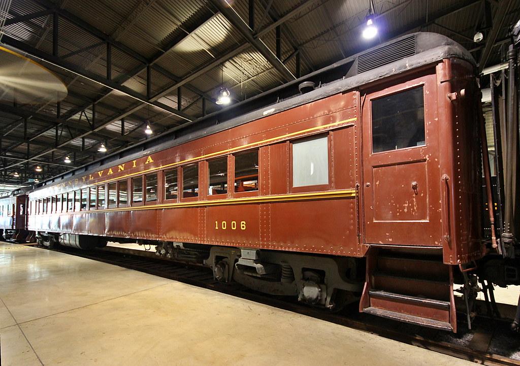Pennsylvania >> Pennsylvania RR Coach 1006 | This was taken at the Railroad … | Flickr