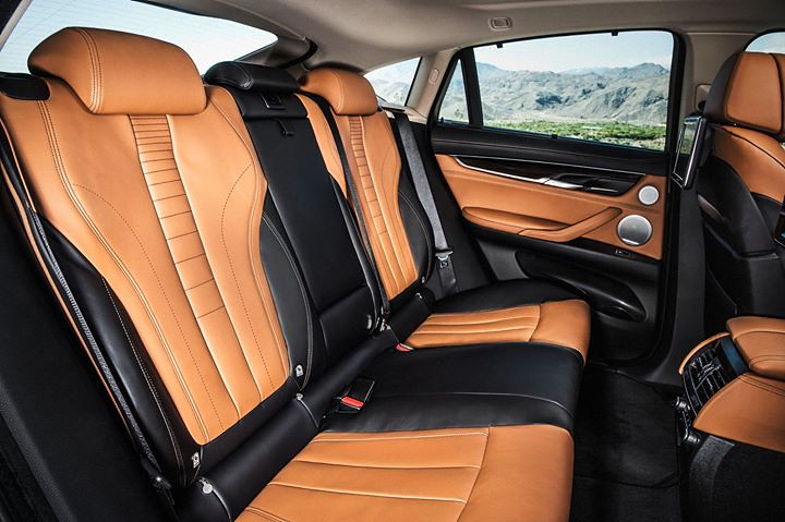The New Bmw X6 Bicolour Leather Nappa With Extended Cont Flickr