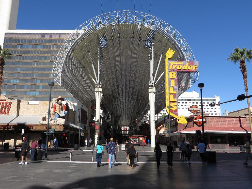 Downtown Las Vegas Casino Map Fremont Street Experience