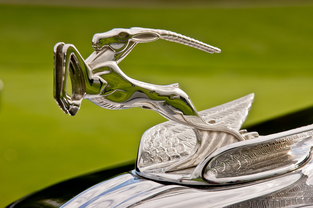 1931 Chrysler Gazelle This Hood Ornament Was Seen At The