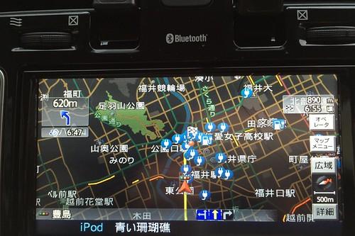 福井市中心部は普通充電スタンド多数