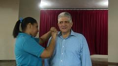 Eduardo Estrella comparte charla en Colegio María Inmaculada