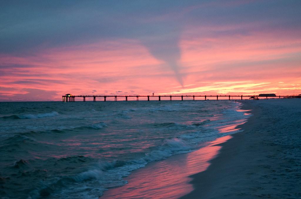 Beasley Park - Fort Walton Beach, Florida  Another Sunset S  Flickr-1942