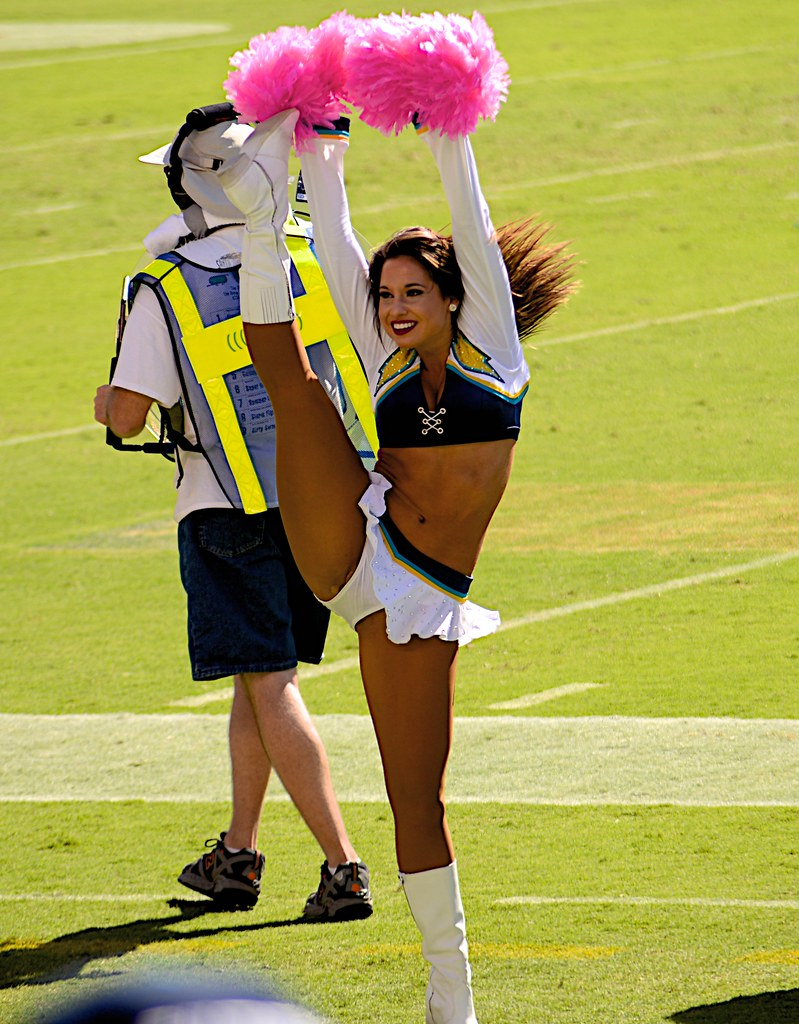 San Diego Charger Girls Kick 303 Bloodyeyeballs Flickr