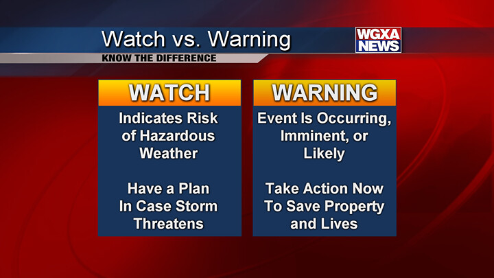 WATCH VS. WARNING: Remember The Difference Between A Watch