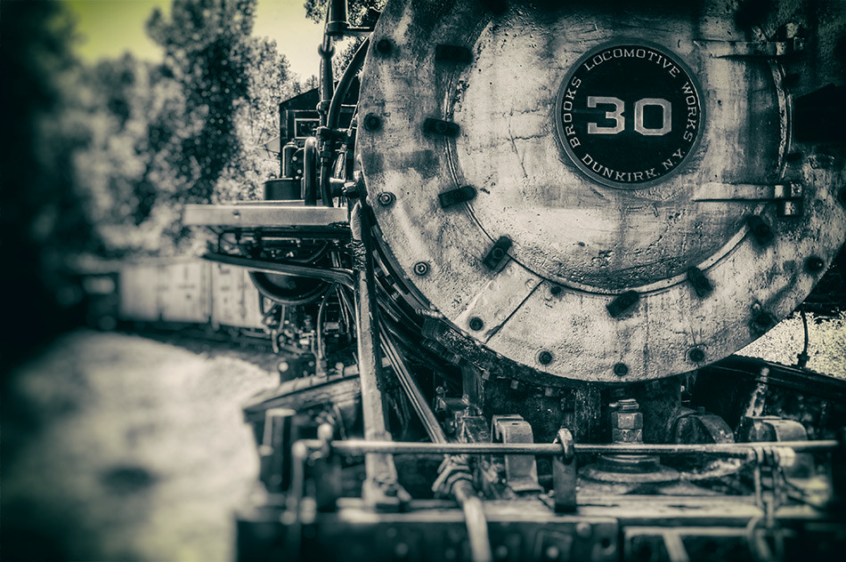 Brooks Locomotive Works #30: Colorado Railroad Museum, Golden CO