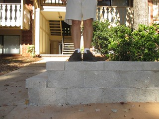 Day 300: Bench Monday - Concrete Curb Edition